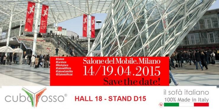 Cuborosso alla fiera di milano 2015 cuborosso divani for Milano salone 2015