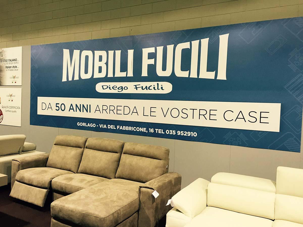 Cuborosso e mobili fucili al salone del mobile di bergamo for Fiera di bergamo 2016